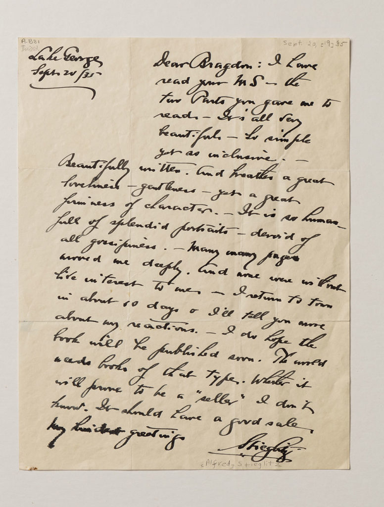 image of handwritten letter