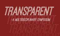 Transparent brochure