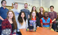 Chem-E-Car team shows its spirit at regional competition