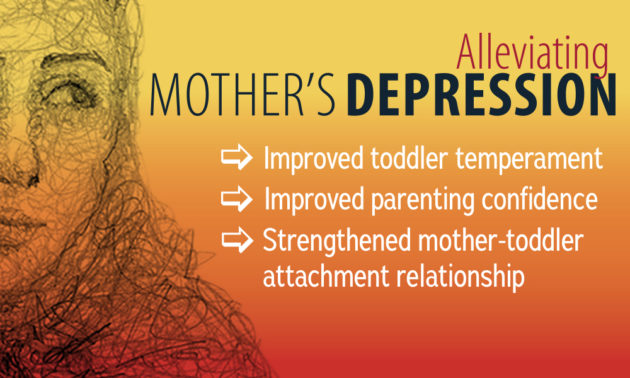 Alleviating mother's depression