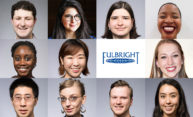 12 students and recent alumni win Fulbright grants