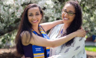 QuadCast: Graduating sisters overcome poverty, racism