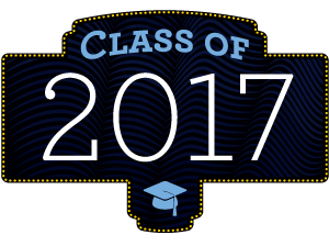 graphic reads CLASS OF 2017