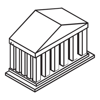 icon of bank