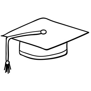 icon of graduation cap