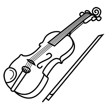 icon of violin