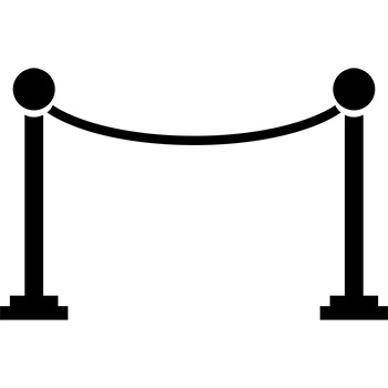 icon of rope line