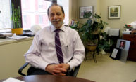 Richard Feldman in his office