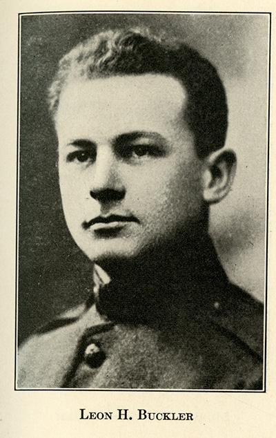 portrait of Leon Buckler