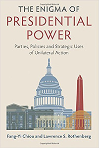 book cover for THE ENIGMA OF PRESIDENTIAL POWER