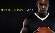 image of a basketball player with the words dSports Summit 2017