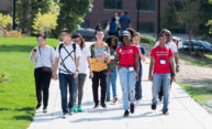 International students move onto River Campus