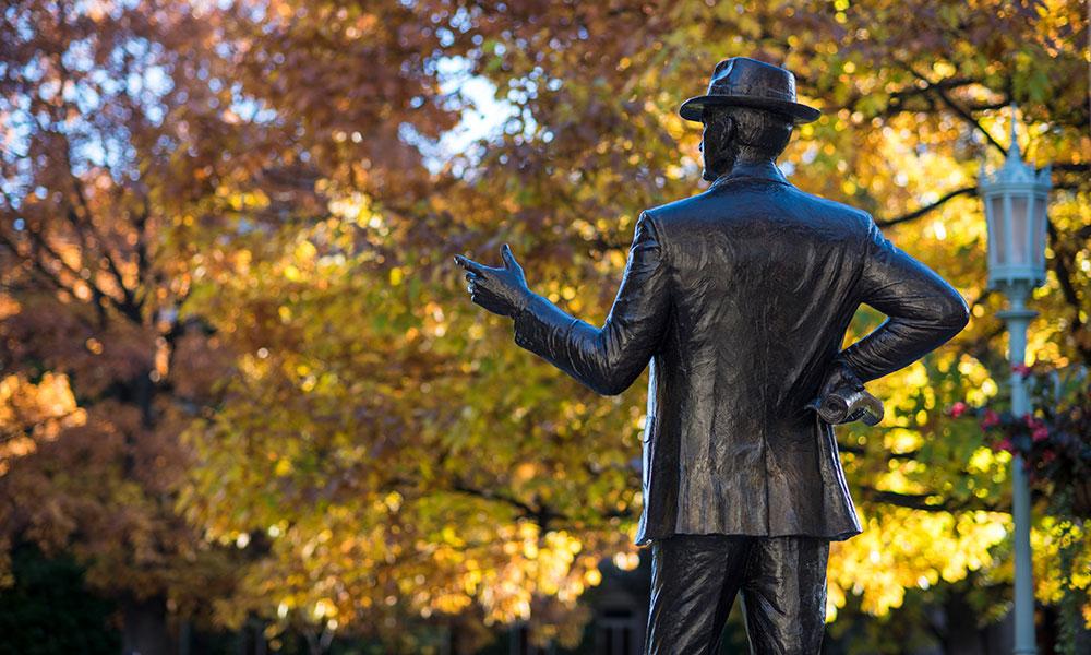 George Eastman statue