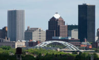 Downtown Rochester skyline