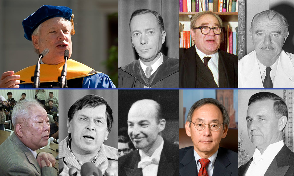 collage of Nobel Prize winners