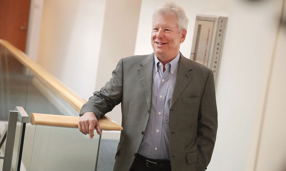 image of Nobel Prize recipient Richard Thaler