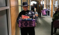University departments join Public Safety in donating record Purple Box gifts