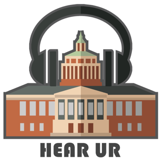 logo image for the HearUR podcast series