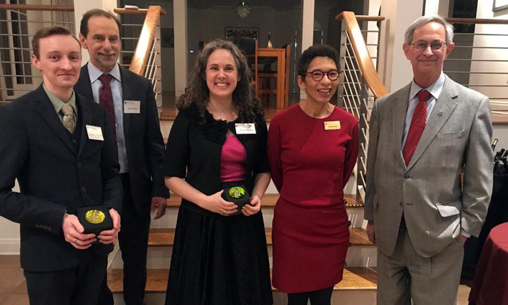 group portrait of Diversity Award winners