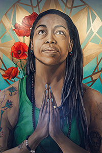 painting of Imani Olear