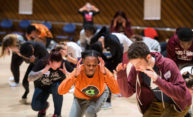 Students learn the art of community change through dance
