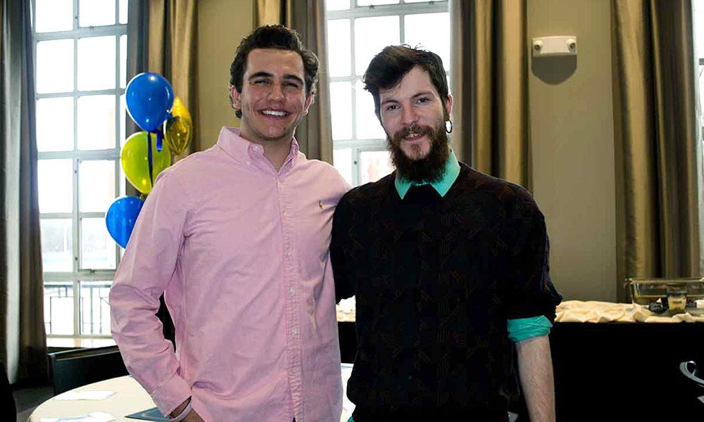 Luke Meyerson and Blake Harriman