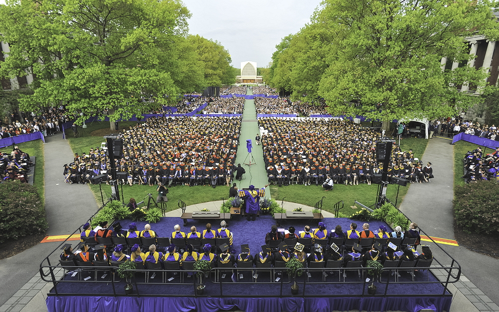 University of Rochester College Commencement ceremony