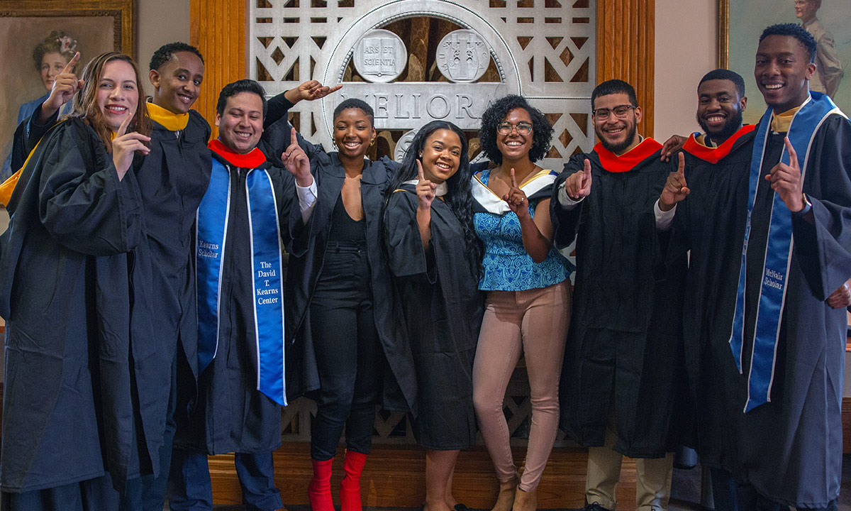Rochester's first Posse Foundation cohort set to graduate