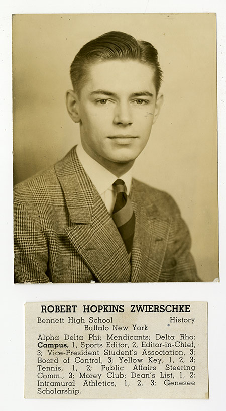 archival photo Robert Zwierschke