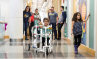 Student engineers help kids with disabilities walk, play with peers