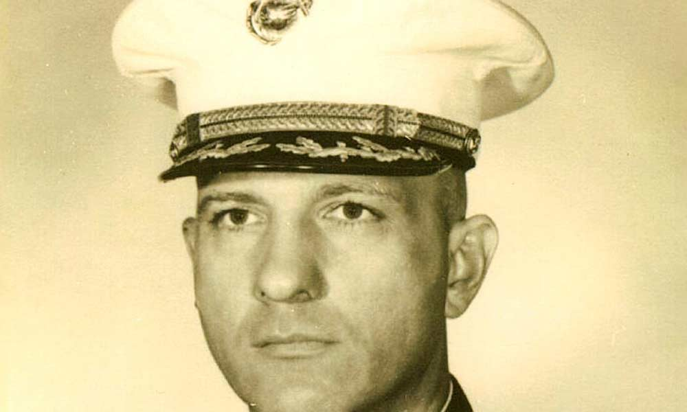 archival photo of naval officer