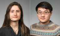 Two University students awarded prestigious Goldwater Scholarships