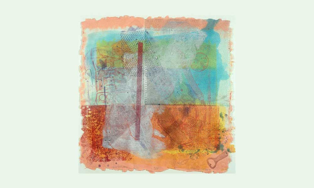 abstract painting by Sam Gilliam
