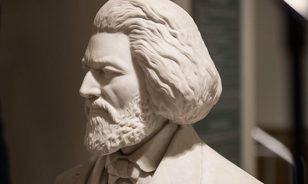 bust of Frederick Douglass