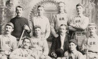 Was the University a player in the invention of baseball?