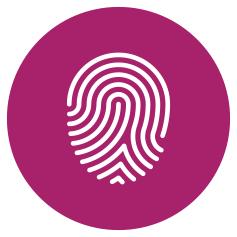 graphic of a thumbprint