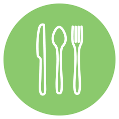 graphic of cutlery