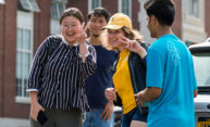 First day on campus for first-year international students
