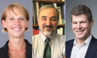 Three University professors to receive Goergen Award for Excellence in Undergraduate Teaching