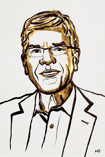 illustration of Paul Romer