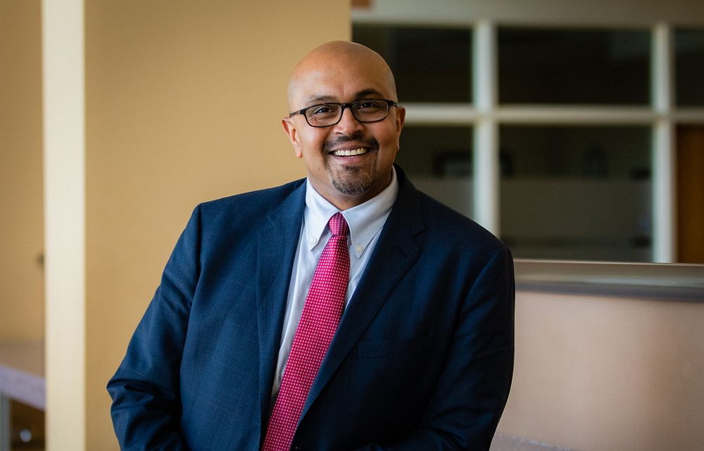 Image of new Warner School Dean Anand Marri