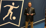 Nik Angyal '19 named Division III men's soccer Elite 90 winner