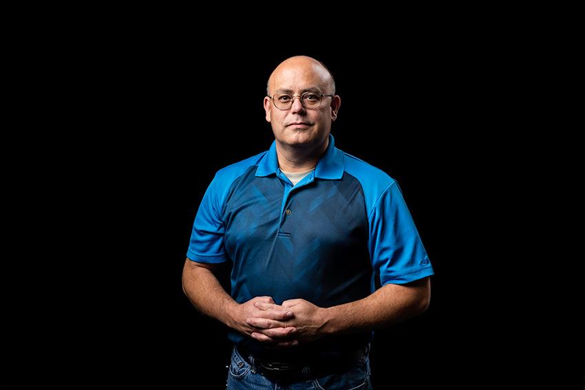 portrait of Mike D'Lallo