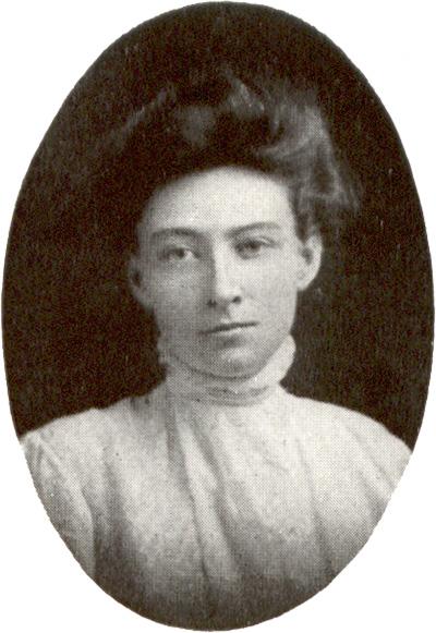 historical portrair of Carolyn Emerson