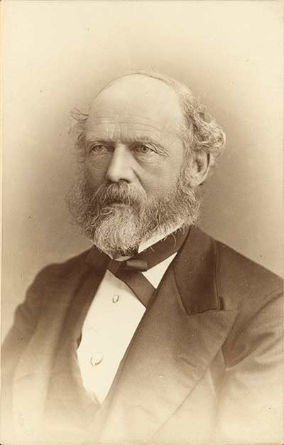 portrait of Lewis Henry Morgan