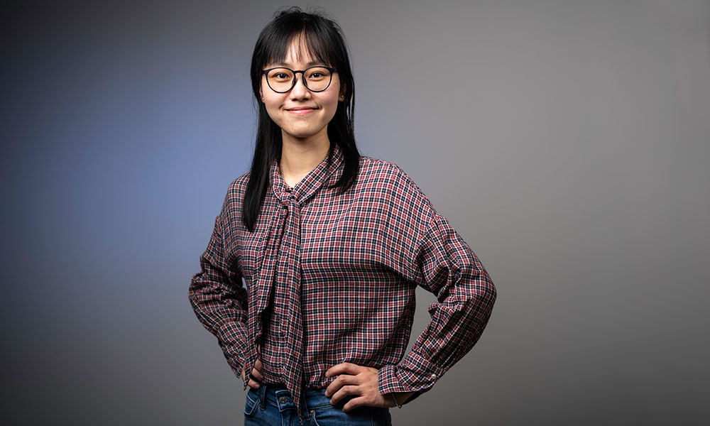 University of Rochester graduate student Beixi Li is one of 140 students selected worldwide as a Schwarzman Scholar.