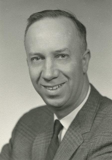 portrait of William Bluhm