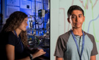 Local teens recognized for Laser Lab research