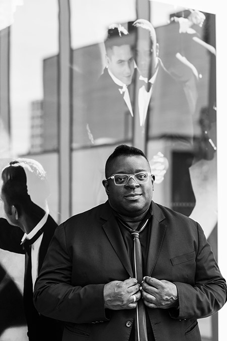 portrait of Isaac Julien.