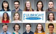 Thirteen students, alumni offered Fulbright grants